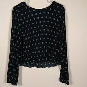 Aeropostale  print blouse